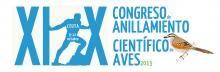 Logo definitivo Congreso anillamiento científico aves Ceuta